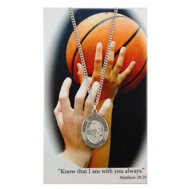 St. Christopher Sports Medal ~ Girls Basketball