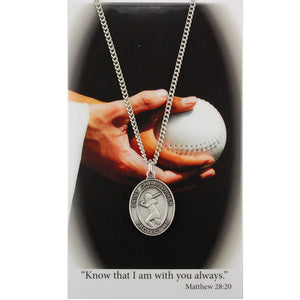 St. Christopher Sports Medal ~ Girls Softball