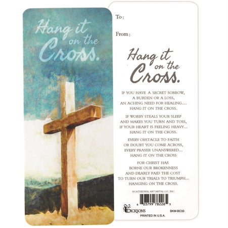 Bookmark-Hang it on the Cross