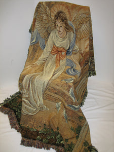 Angel of Light Throw Afghan