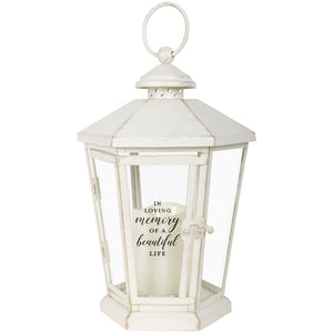 Light the Way Lantern (multiple verses available)