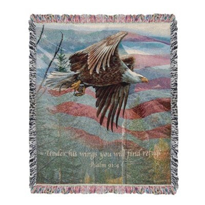 Inspirational Throws~May Freedom Forever Fly