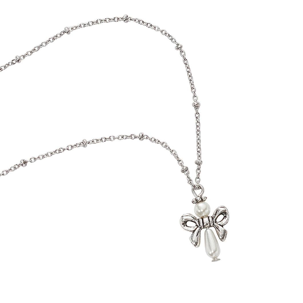 Necklace ~ Child's Pearl Angel