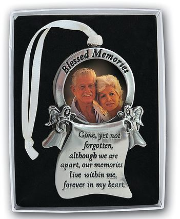 Memorial Ornament ~ Blessed Memories