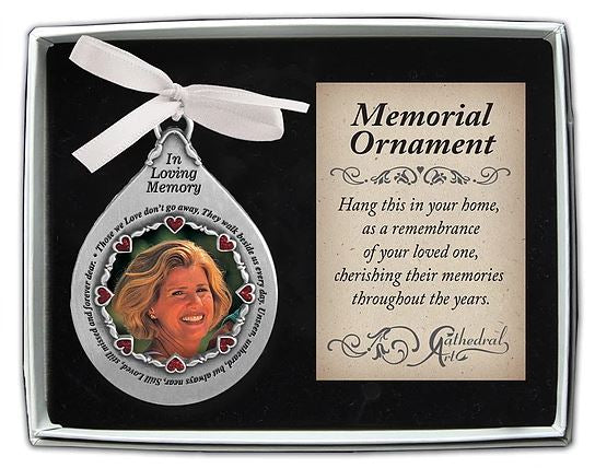 Memorial Ornament ~ In Loving Memory