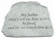Load image into Gallery viewer, Garden Stone-My Father