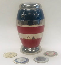 Load image into Gallery viewer, Keepsake Urns-Stars and Stripes