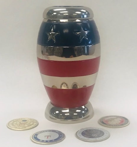 Keepsake Urns-Stars and Stripes
