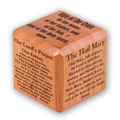 Wooden Prayer Cube