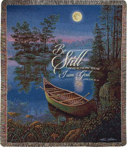 Inspirational Throws ~ Moonlight Bay