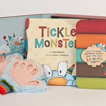Book ~ Tickle Monster Kit