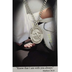 St. Christopher Sports Medal ~ Track
