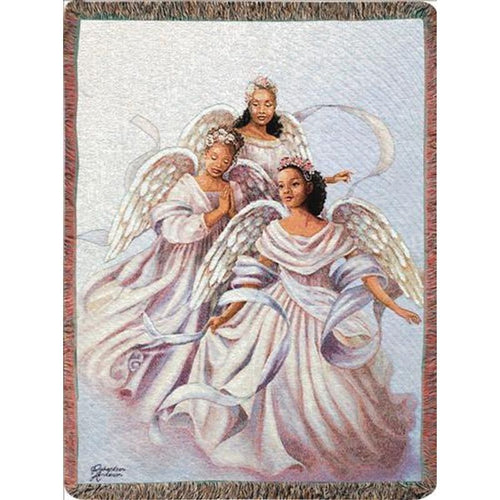 Inspirational Throw ~ Angelic Trio