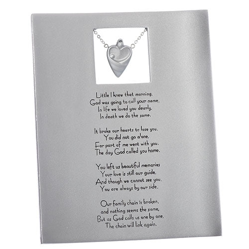 Plaque ~ The Broken Chain