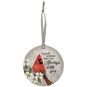 "Ornament-Cardinal ""Always with You"""