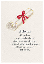 "Load image into Gallery viewer, Cards-Graduation ""Diplomas"""