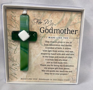 Ornament - Godmother Cross