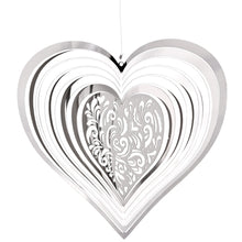 Load image into Gallery viewer, Ornamental Suncatcher-Heart Shimmer