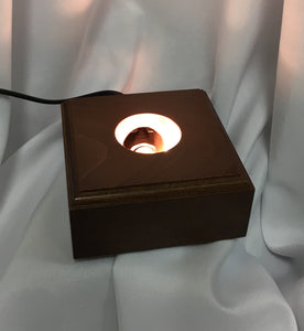 Light Base (perfect under oil candles ~ two sizes available)