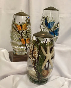 Oil Candle ~ Brandy Vase (multiple styles)