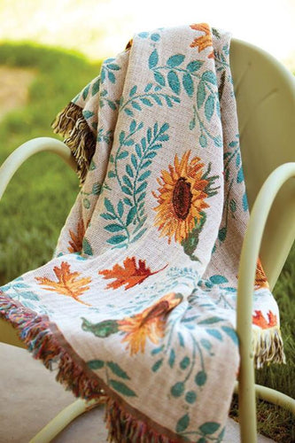 Inspirational Throws ~ Harvest Gathering