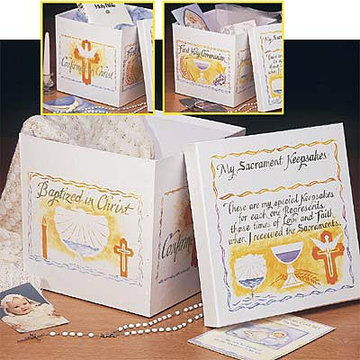 Sacrament Keepsake Box