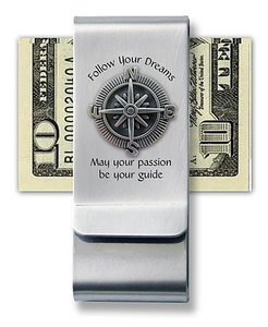 "Money Clip ~ ""Follow Your Dreams"""