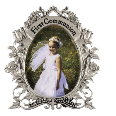 Frame-1st Communion Oval Frame