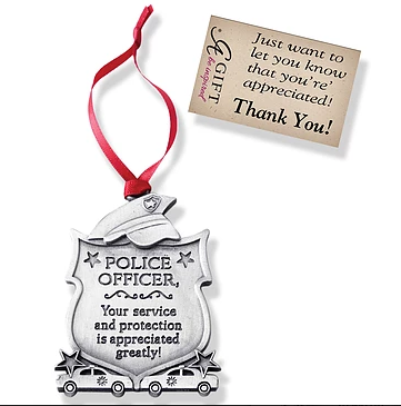 Ornament ~ Police Officer