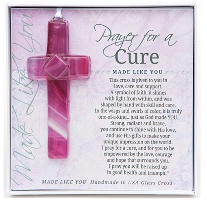 Ornament - Prayer for a Cure Cross