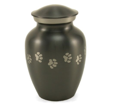 Pet Urn ~ Slate Paw Tracks