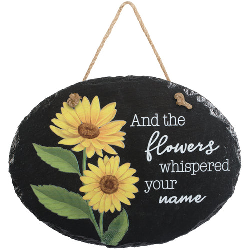 Plaque-Sunflowers-