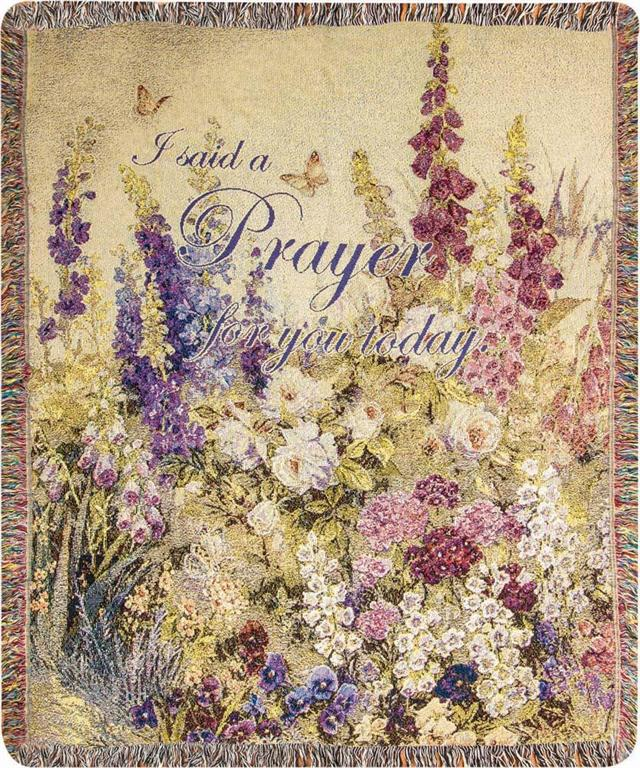 Inspirational Throws ~ Butterflies in Paradise