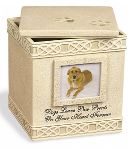Urn ~ Dogs Leave Paw Prints