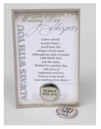 Pocket Token ~ Wedding Day Whispers