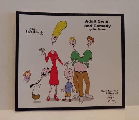 Adult Swim Textbook with The Oblongs on the cover!