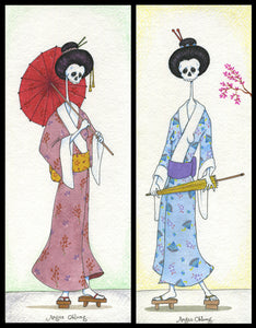 Dead Geisha Art Prints.