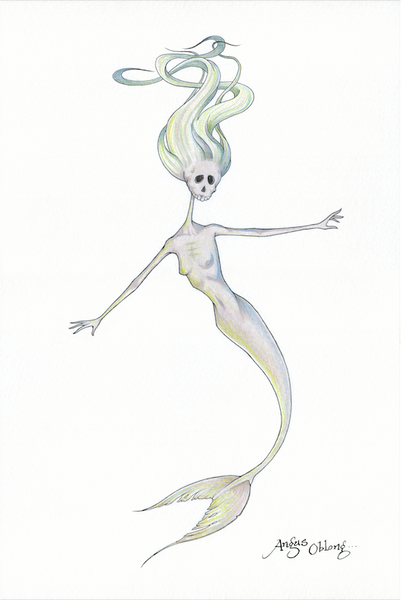 Dead Mermaids Art Prints.