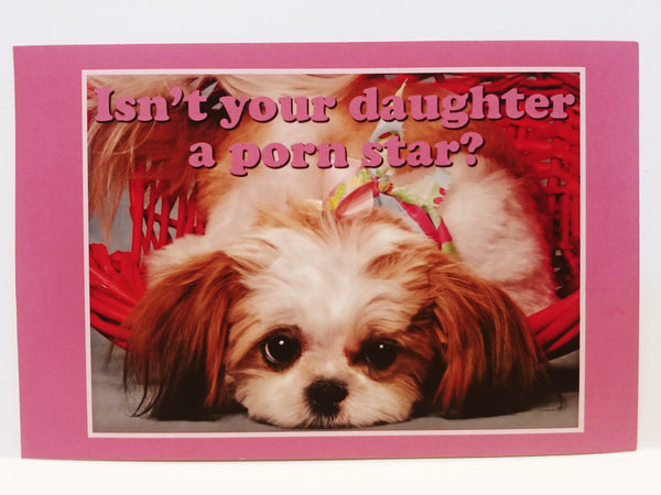 Fuck**g Adorable Personalized Postcards!