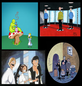 Pop Culture Art Prints!