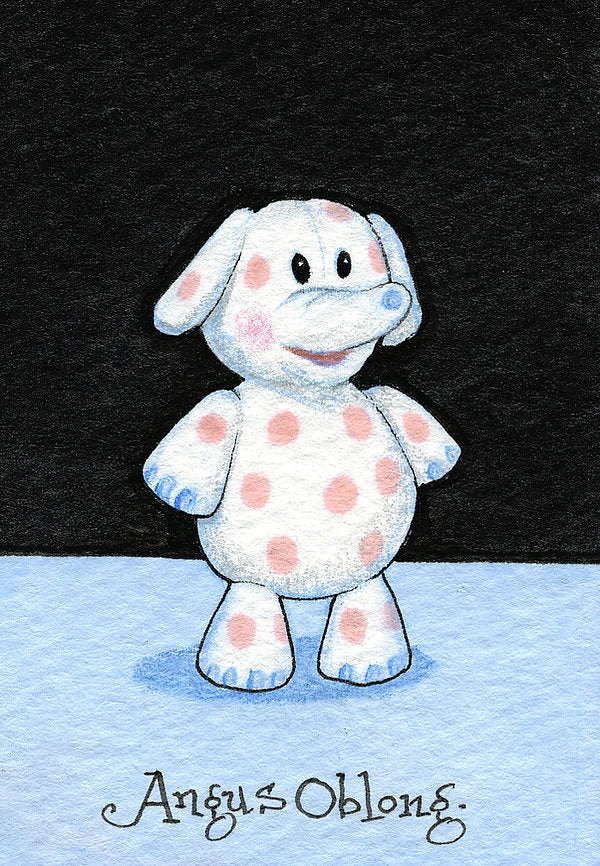 The Spotted Elephant from the Island of Misfit Toys Art Print.