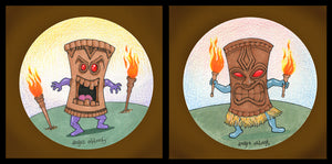 Tiki Gods Art Prints.