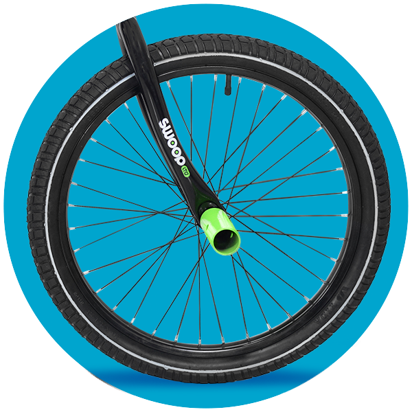 Real Air Tires with Pegs