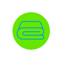 Folds for Easy Storage and Transport