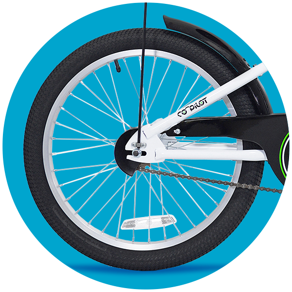 Smooth Air Tire and Freewheel