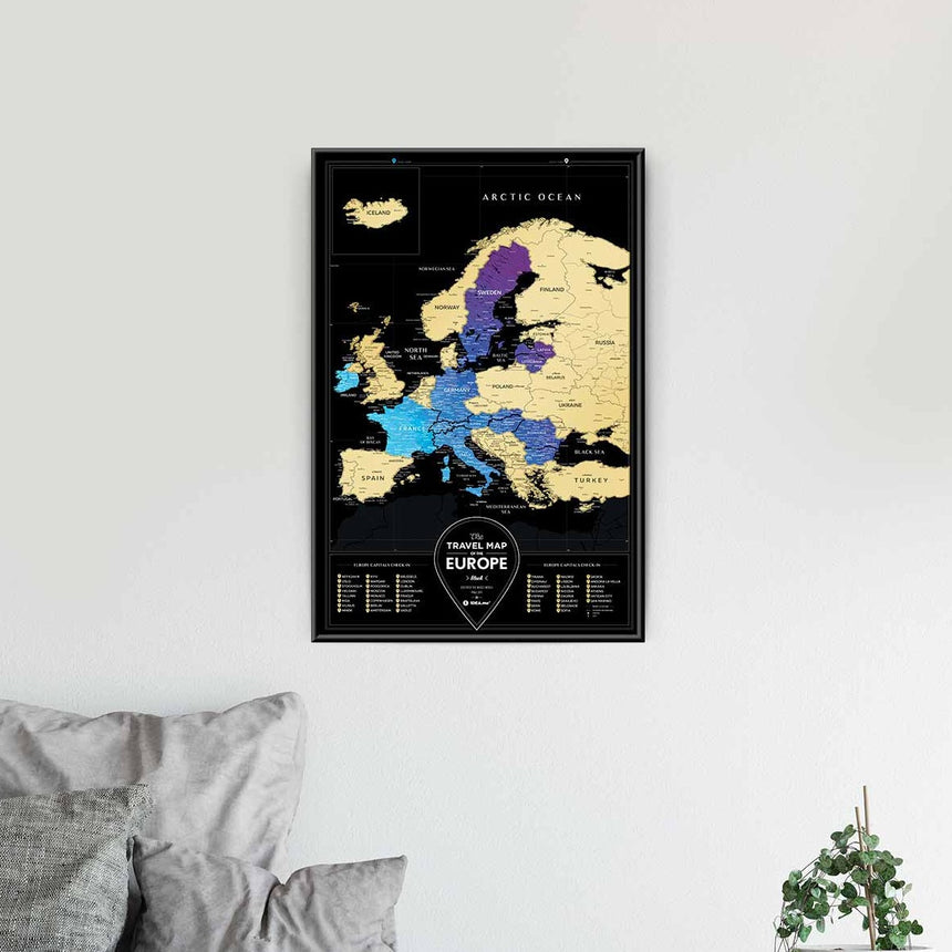 1DEA.ME - Travel Map® | Black Europe