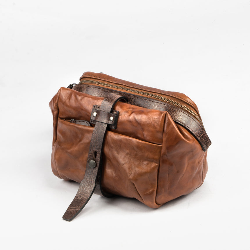 Wotancraft - Mini Rider Leather Sling Bag | 3.5L