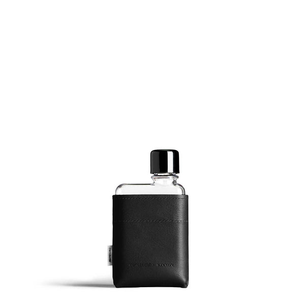 Memobottle - A7 Leather Sleeve - Black