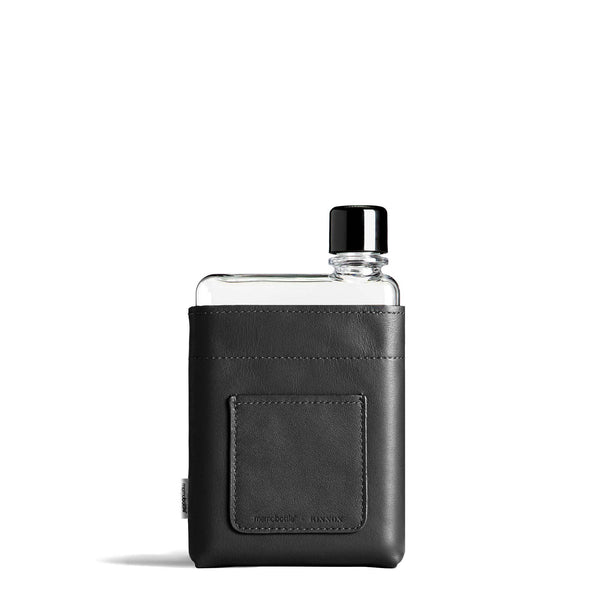 Memobottle - A6 Leather Sleeve - Black