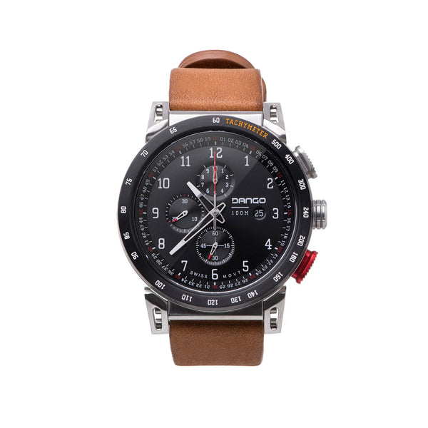 Dango - CR-01 - CHRONO WATCH WITH HORWEEN LEATHER STRAPS